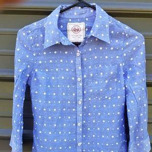 SO Perfect Shirt with polka dots - small